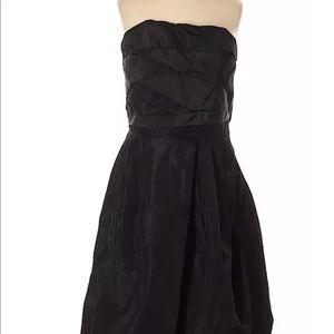 Zara cocktail black party dress women SZ Med